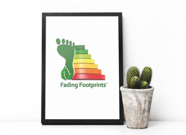 Fading Footprints Logo Design